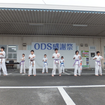 ODS感謝祭での演武